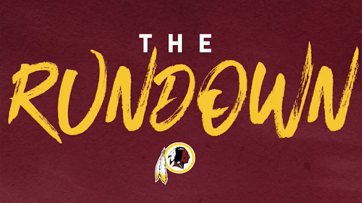 The one and only @Ky3fOUR joined us today on The Rundown here at @Redskins Park. The word excited is an understatement to explain how ready Ky is to coach a talented defensive back this season! Check out the full podcast with Kyshoen below: youtu.be/BGXvCxOEYKs