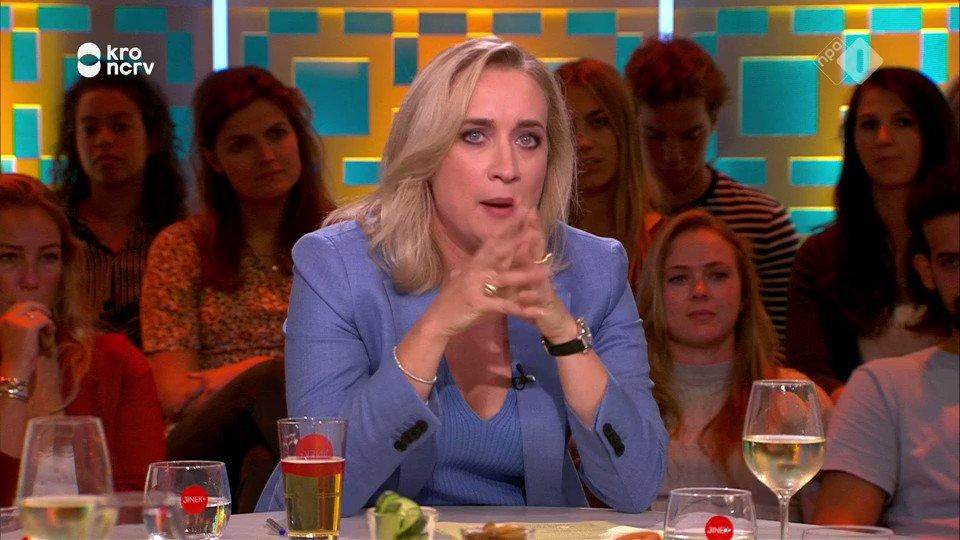 """Eva Jinek: """"Wat hebben we aan bezoek Rutte aan Trump?"""""""