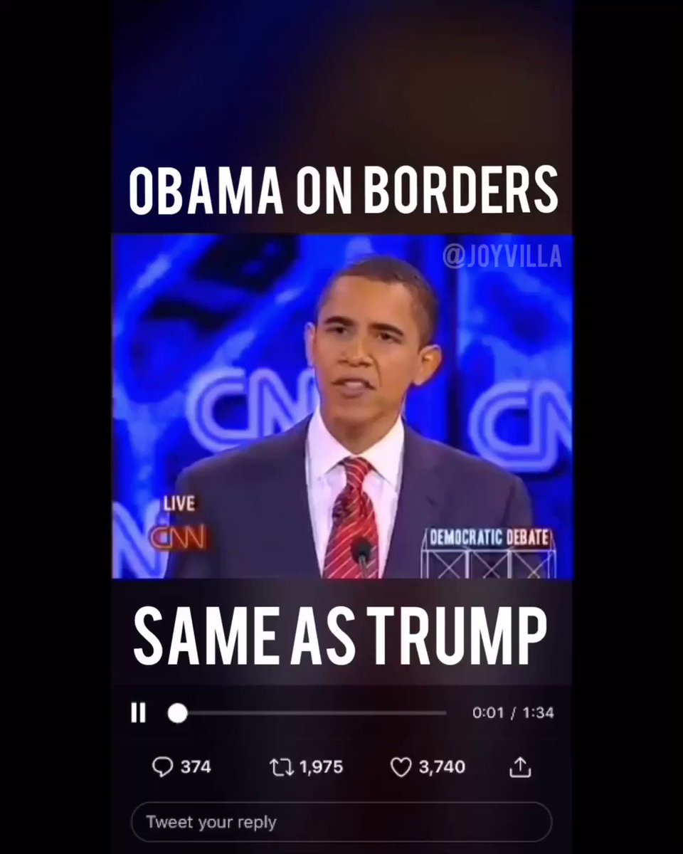 2008 @BarackObama sounds EXACTLY like 2019 @realDonaldTrump. What the hell happened to @TheDemocrats? Your party has been hijacked by leftists, socialists and extremists. #walkaway & feel #freedom