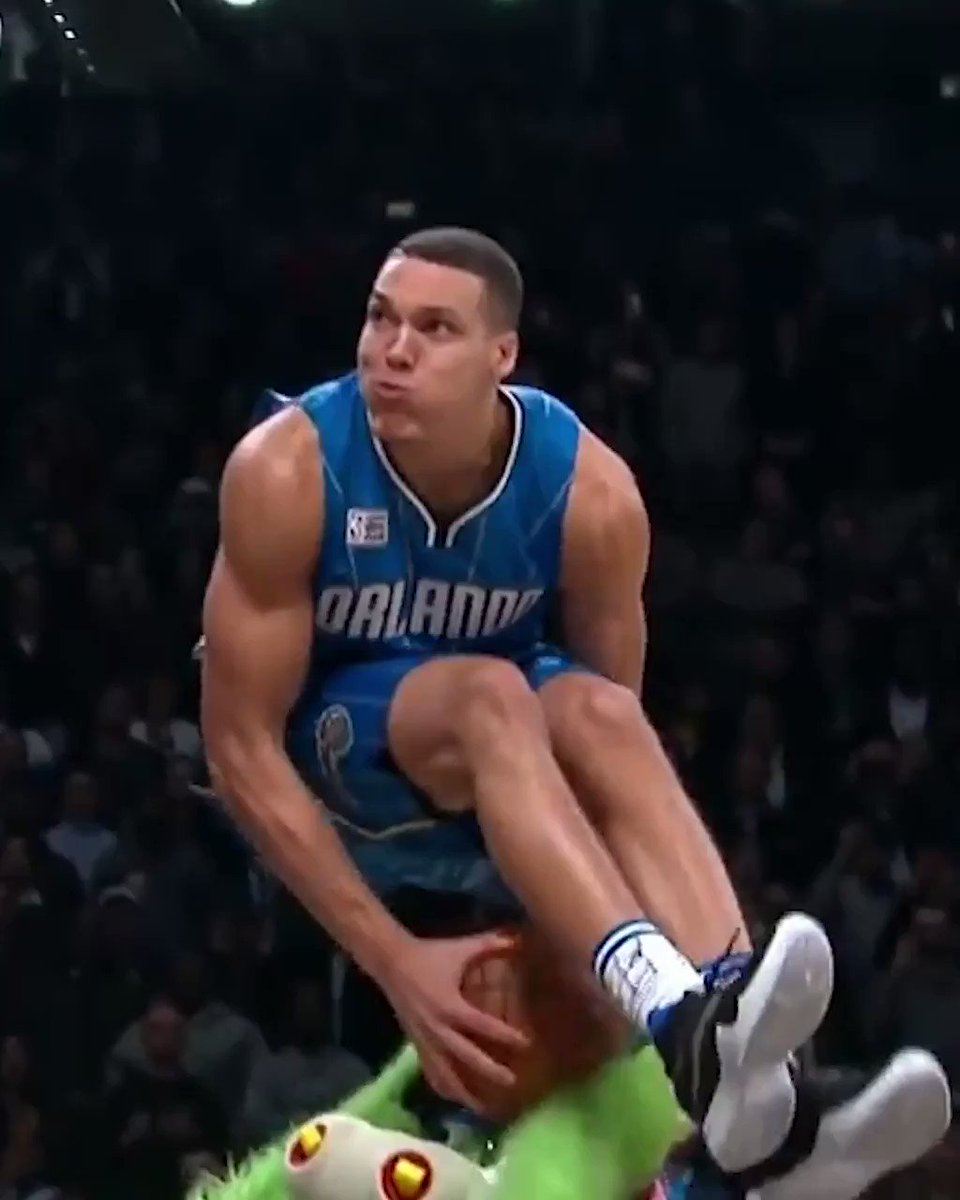 #TBT When Aaron Gordon shocked the world with this insane dunk! 😱🔥In the history of the dunk contest. Where do you rank it? 👀@Double0AG #ballislife