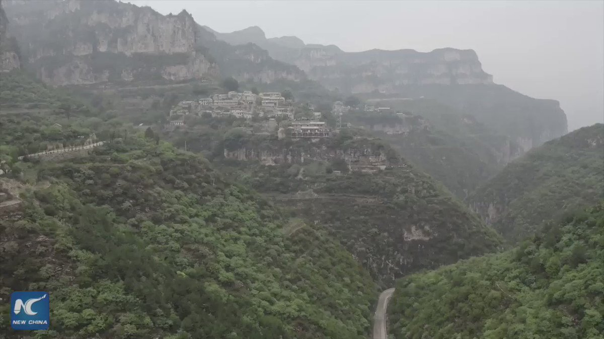 How did this isolated stone village turn into a booming tourist resort in northern China? Watch to find out! #FlyOverChina