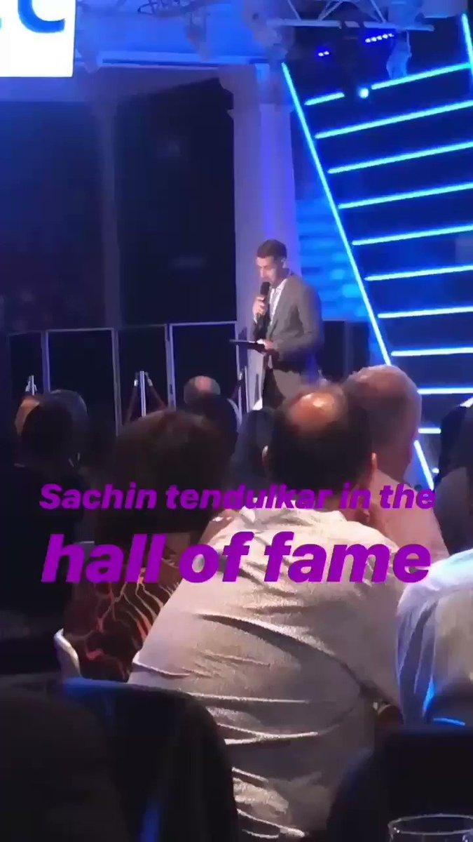 Congrats Master @sachin_rt ♥️#ICCHallOfFame #SachinTendulkar