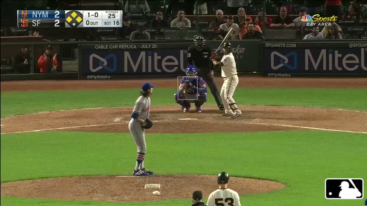 Sweet 16.  (MLB x @BankofAmerica)