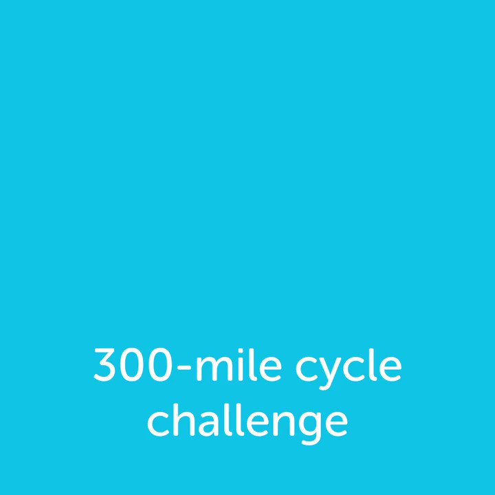 Sign up to take on #Cycle300 👉 http://po.st/sOytZV👈 and commit to cycling 300 miles this September! Whether you complete the distance all in one go, over a weekend or throughout the month, the money you raise will help beat cancer 🚴🚵