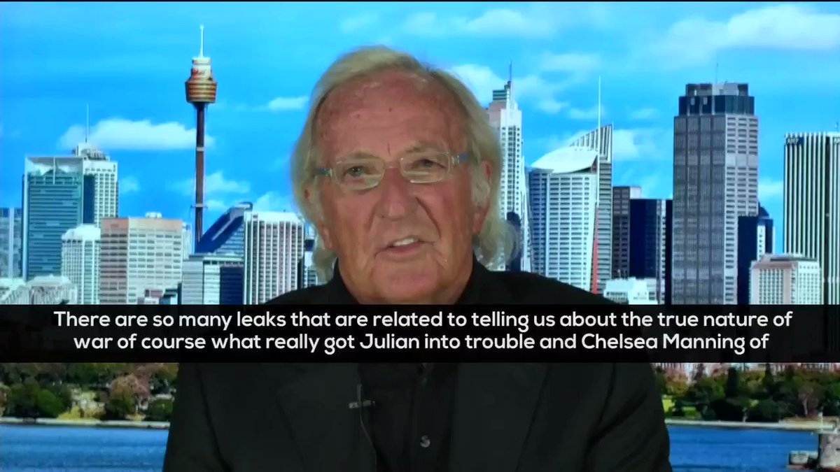 What got Julian Assange & Chelsea Manning into trouble was the Collateral Murder video. It showed the HOMICIDAL nature of US colonial wars & the 360° view of just KILL THEM ALL!🔥 -Legendary Journalist John Pilger on @Wikileaks #Assange FULL: youtube.com/watch?v=siHgvx…