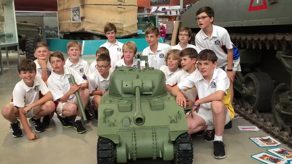 Great build a Sherman experience at @TankMuseumLearn Bovington.  A brilliant activity for the boys! #tanksforthememories