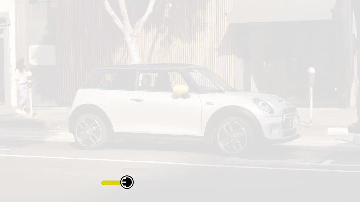 Image for the Tweet beginning: The #AllElectric MINI: an electric
