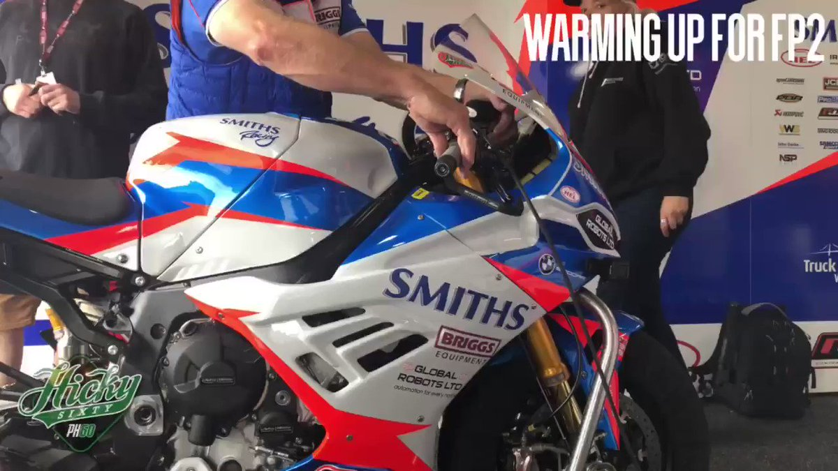 Getting fired up for @OfficialBSB #FP2 @SnettertonMSV   @Smiths_Racing