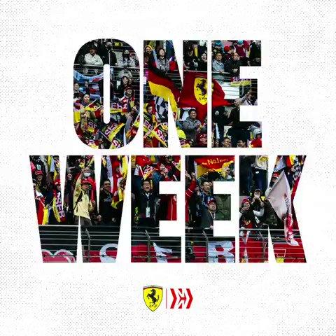 One Week #FP1 #FP2 #GermanGP #HomeRace #SebastianVettel