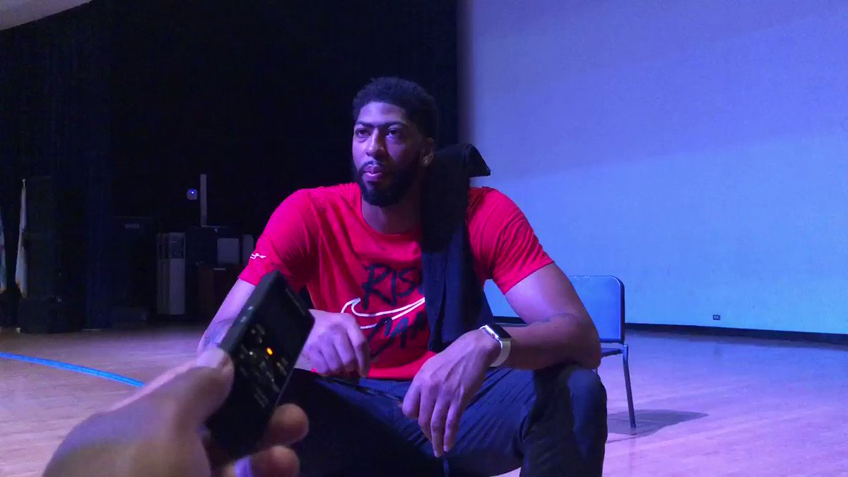 """RT @tonygill670: Anthony Davis """"Chicago is the Mecca of basketball and you can quote me on that"""" https://t.co/NfuLAxYMMZ"""