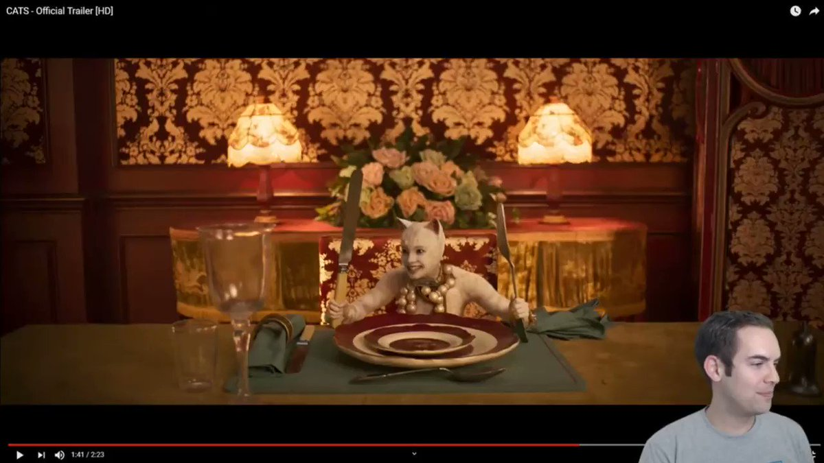 This is the part that 100% broke me during yesterdays frame-by-frame stream of the CATS trailer