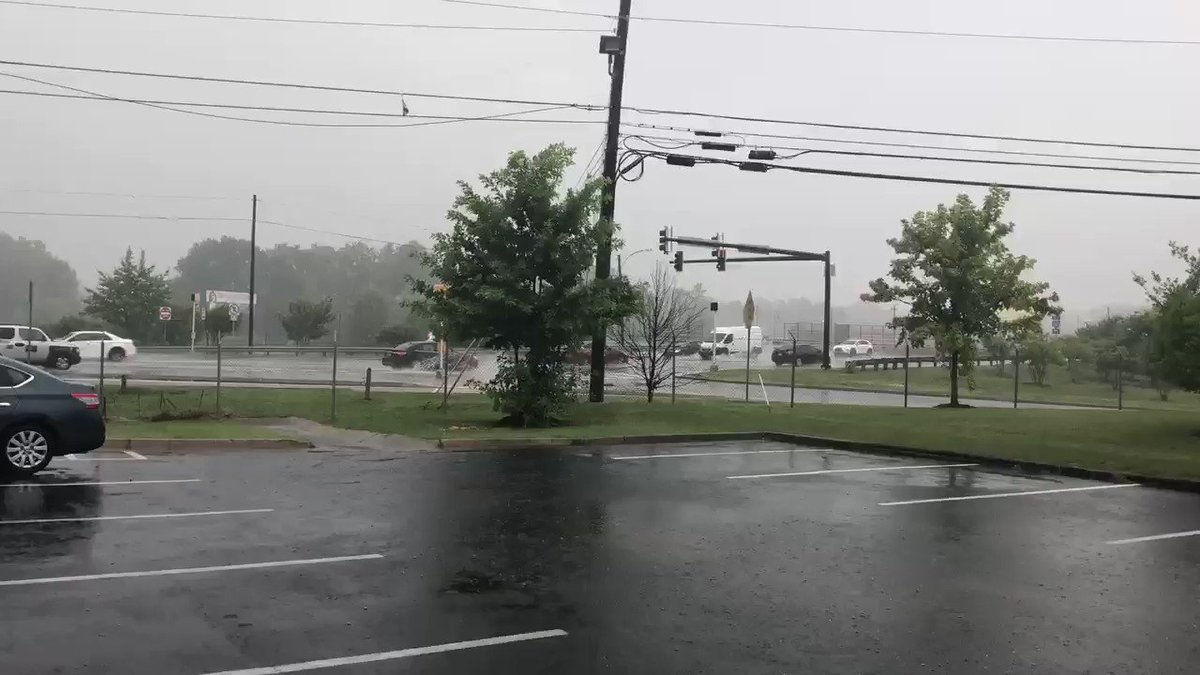 Nasty rain here in Conyers. And a few minutes ago I heard thunder pops. Be careful out there!