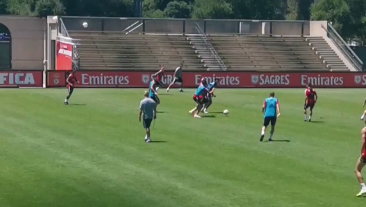 Jota with a great goal in training 💫
