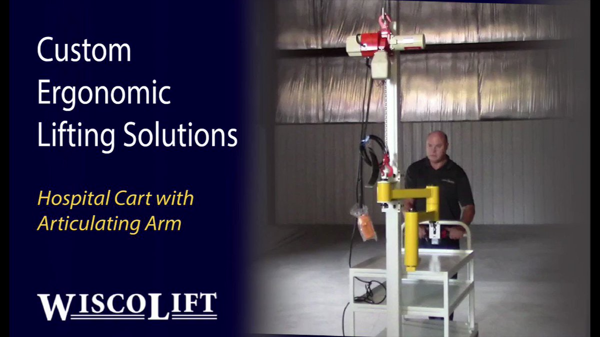 Custom #Ergonomic #Material #Handling Solutions at WiscoLift. Do you have an application challenge? Let our Sales/Engineering team design the best equipment for your application. 800-242-3477 #equipment #materialhandling #WiscoLift