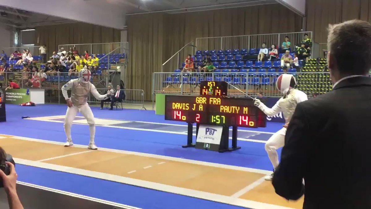 Go Maxime 🤺  Championnat de Monde