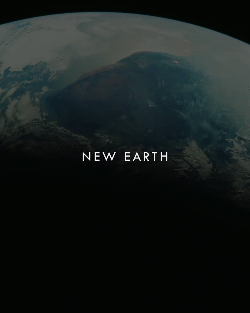 "Image for the Tweet beginning: A ""New Earth"", captured by"