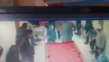 Robbery at a pool Centre in 8th Avenue Mayfair JHB last night.
