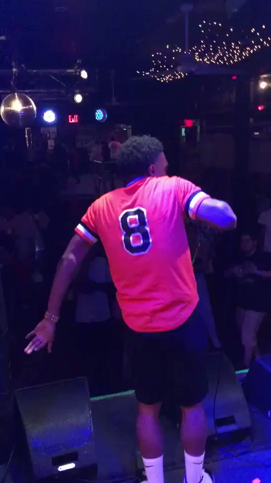 """We gon turn any crowd up with the energy , got my nigga @Zoduh hitting that ric flair walk 😂😭, but in all seriousness I had fun """"FSU"""" out right now go get that 🦊"""