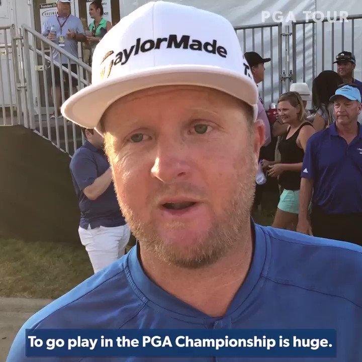 Image for the Tweet beginning: In May, @PGA professional Ryan