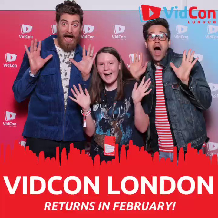 #VidConLDN 2020 is HAPPENING