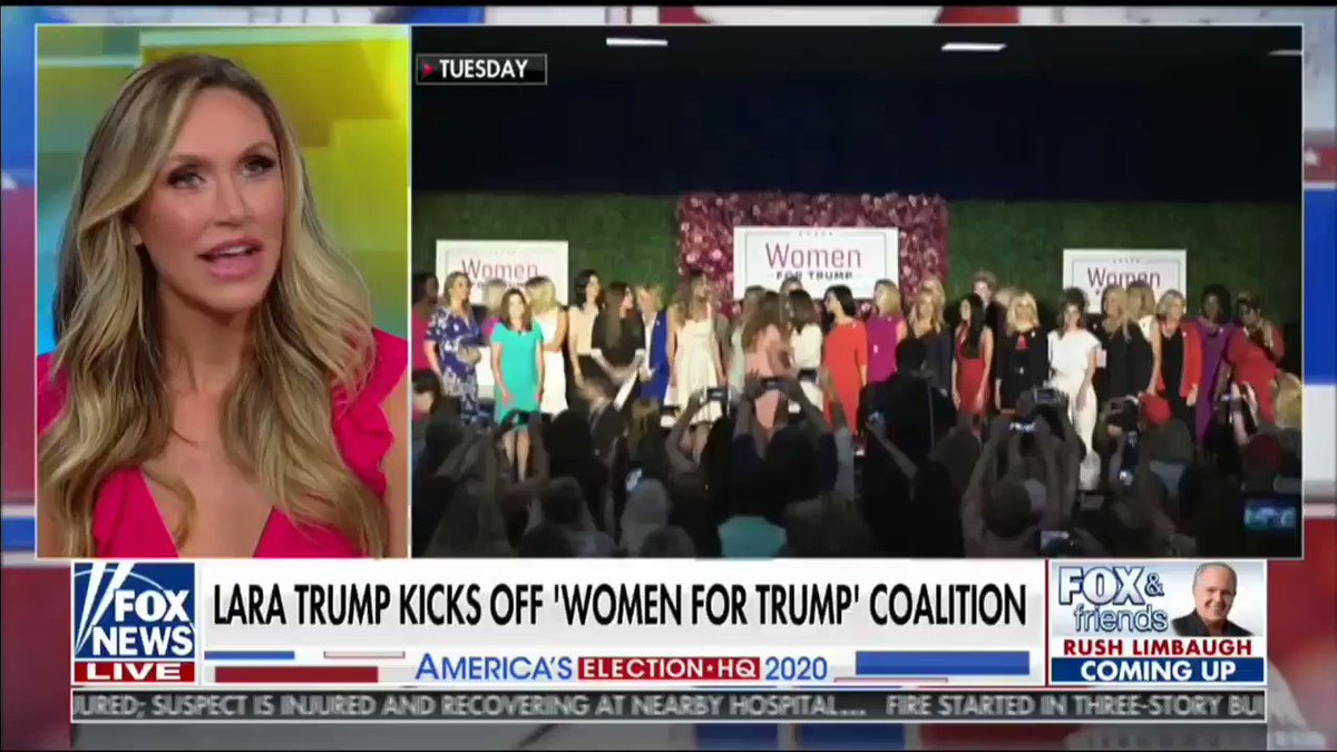 """Women's issues are American issues."" -@LaraLeaTrump"