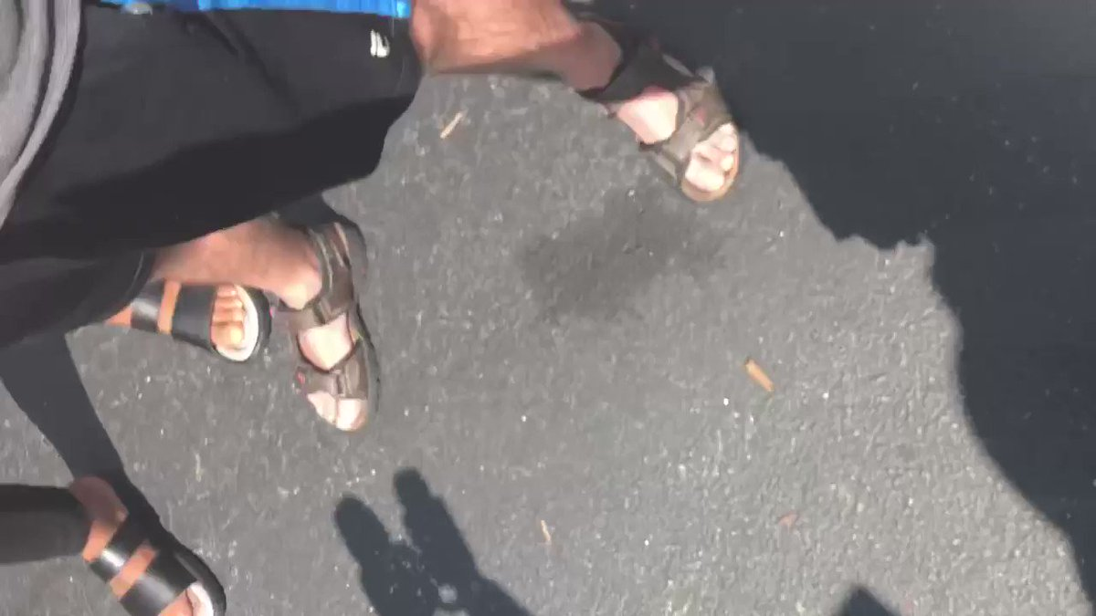 There's more of the confrontation today you haven't seen. Story at 11 from Cobb County