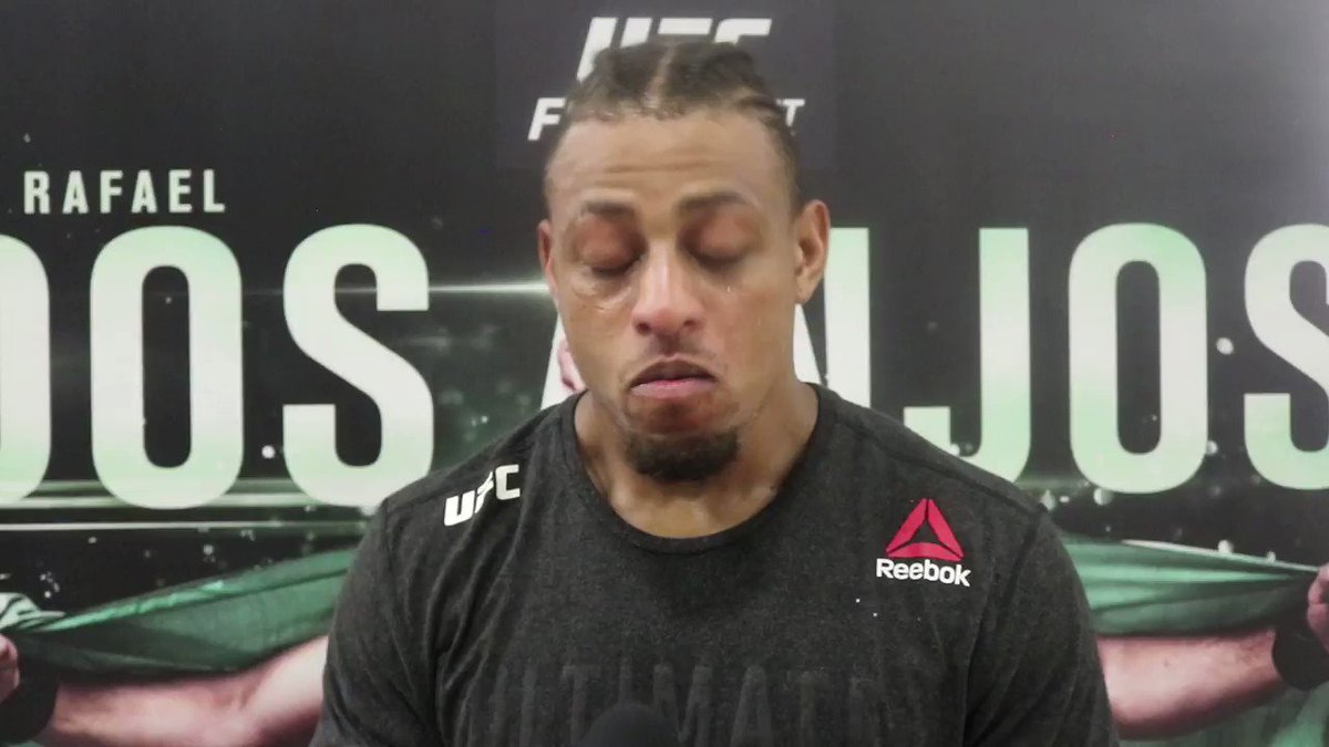 """I'm a hunter."" - @GregHardyJr talks about his first round TKO victory over Juan Adams 🔊🆙 #UFCSanAntonio   Results: https://www.ufc.com/news/ufc-san-antonio-results-rafael-dos-anjos-leon-edwards…"