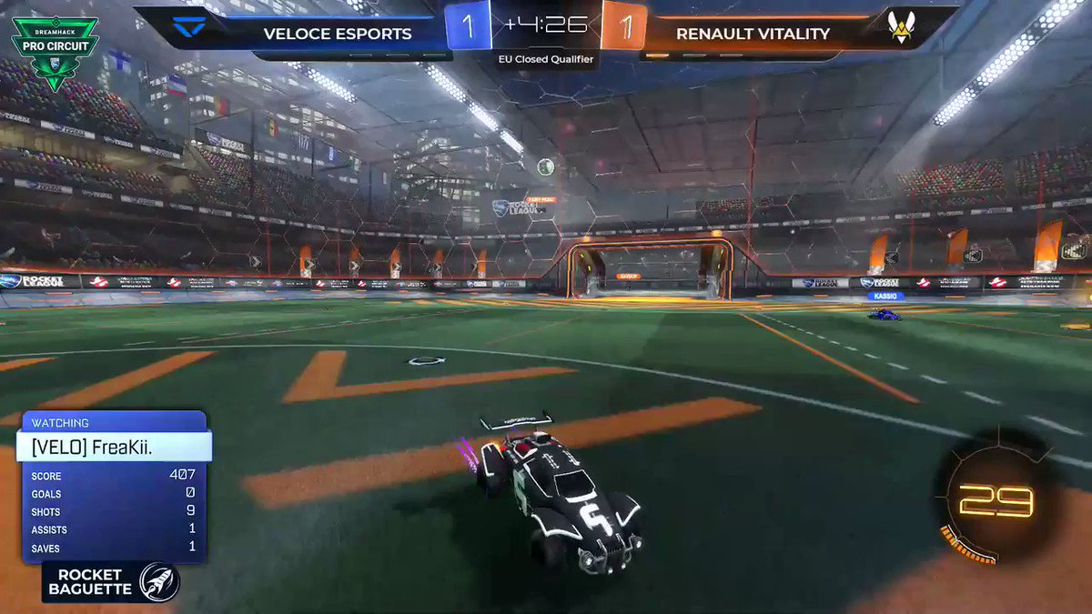 The Renault Sport Team Vitality squad is doing well and they're 2-0 in the match vs @VeloceEsports #RSspirit #VforVictory @RenaultF1Team   📺 http://twitch.tv/rocketbaguette