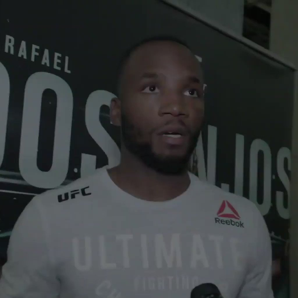 """I think you know why (I want Masvidal).""  @Leon_EdwardsMMA has his next opponent in mind 👀 #UFCSanAntonio"