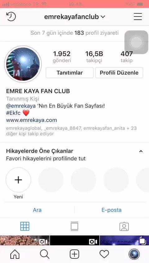 Emre Kaya Fan Club Whatsapp Grubumuza Katılmak İsteyenler Videodaki Numara İle Whatsapp'tan Mesaj Yoluyla Veya Kendisine Instagram Üzerinden 👉 @recepkvlc 👈 İrtibata Geçebilirsiniz ⭐ @emrekaya #emrekaya #emrekayafan #emrekayafanclub #ekfc