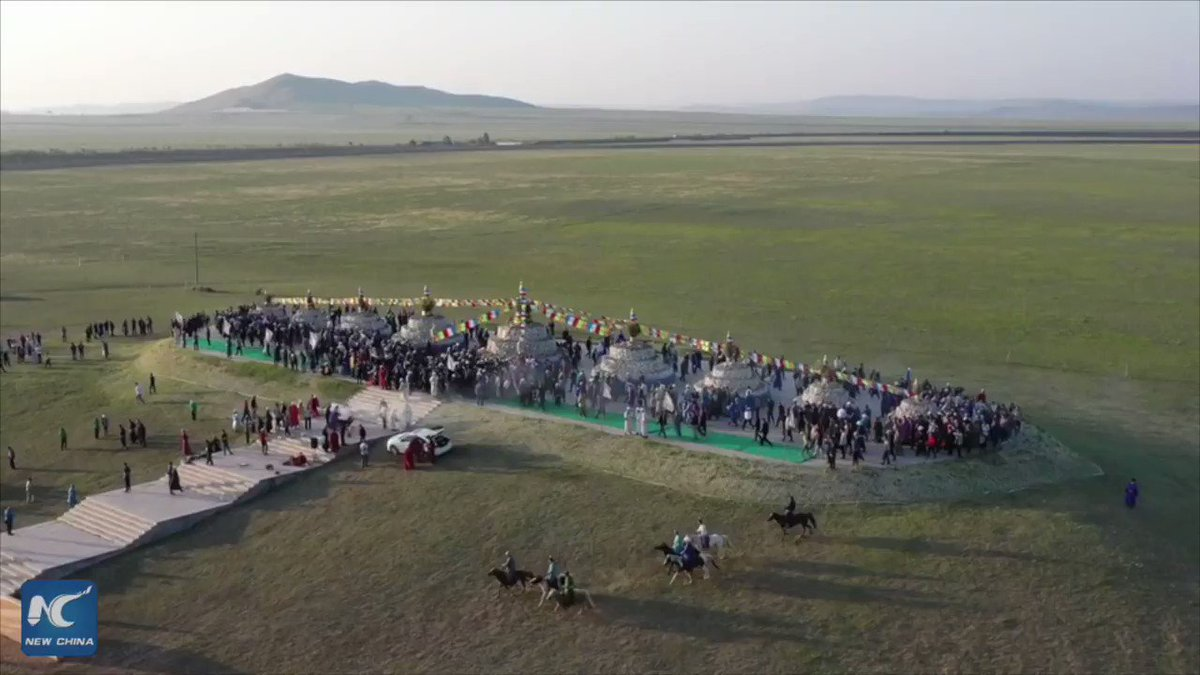 Find out how and why people in north China's Inner Mongolia Autonomous Region celebrate Aobao worship cultural festivals