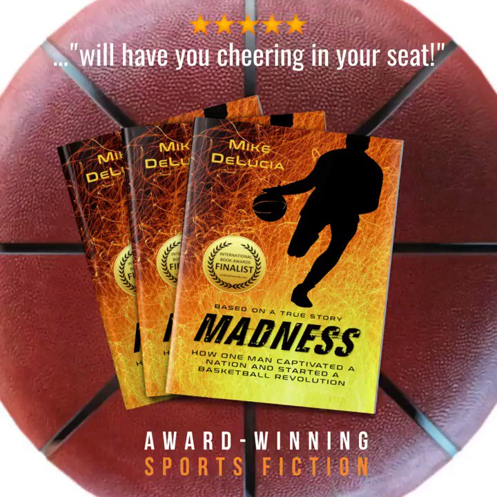 It's Game Time! #Read the story of the first modern basketball player who paved the way to #MarchMadness and the #NBA So moving, you almost forget it's about #basketball 🏀🏀🏀 http://getbook.at/madnesskindle #Free #Kindleunlimited  @mdeluciabooks  #IARTG #BYNR #sports #Kindlebooks