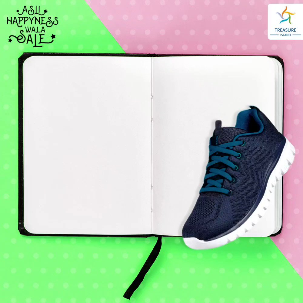 This monsoon, walk like a boss lady. Let your leather shoes take a break and the funky rainy footwear take  over. Pick your puddle friendly shoes at  #AsliHappynessWalaSale, only at #TreasureIslandMall! @adidas @reebokindia @Crocs  #MondayMotivation #MondayBlues #Fashionnova