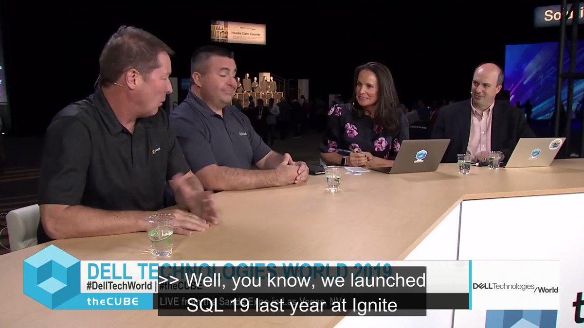 Bob Ward shares his knowledge on SQL Server 2019.   https://video.cube365.net/c/914229 @bobwardms @Microsoft @DellTechWorld @knightrm @stu @theCUBE #Microsoft #DellTechWorld #theCUBE #data #datavirtualization #sqlserver #sqlserver2019 #EnterpriseTech