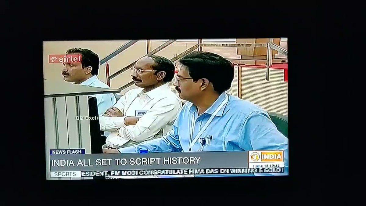 #Chandrayaan2 #ISRO Creating The History... 💯