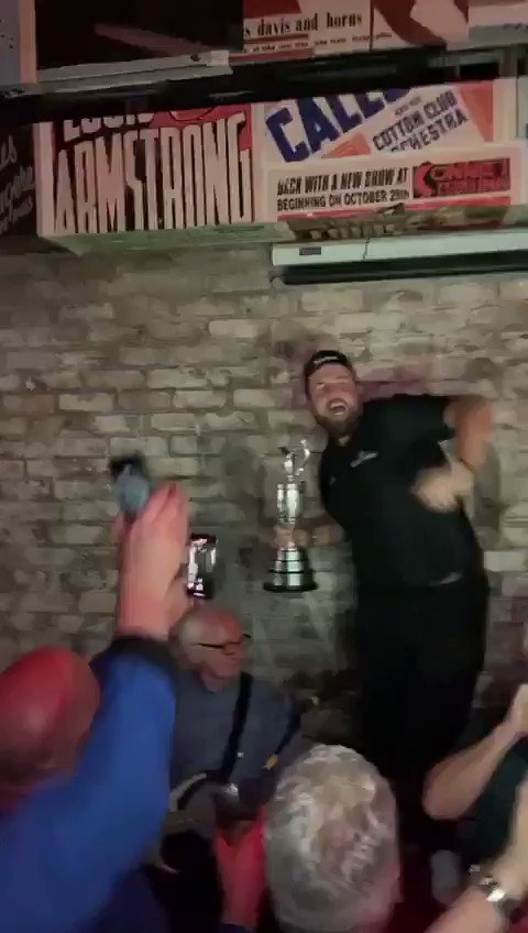 Shane Lowry won The Open and then he went to 'f***ing party'