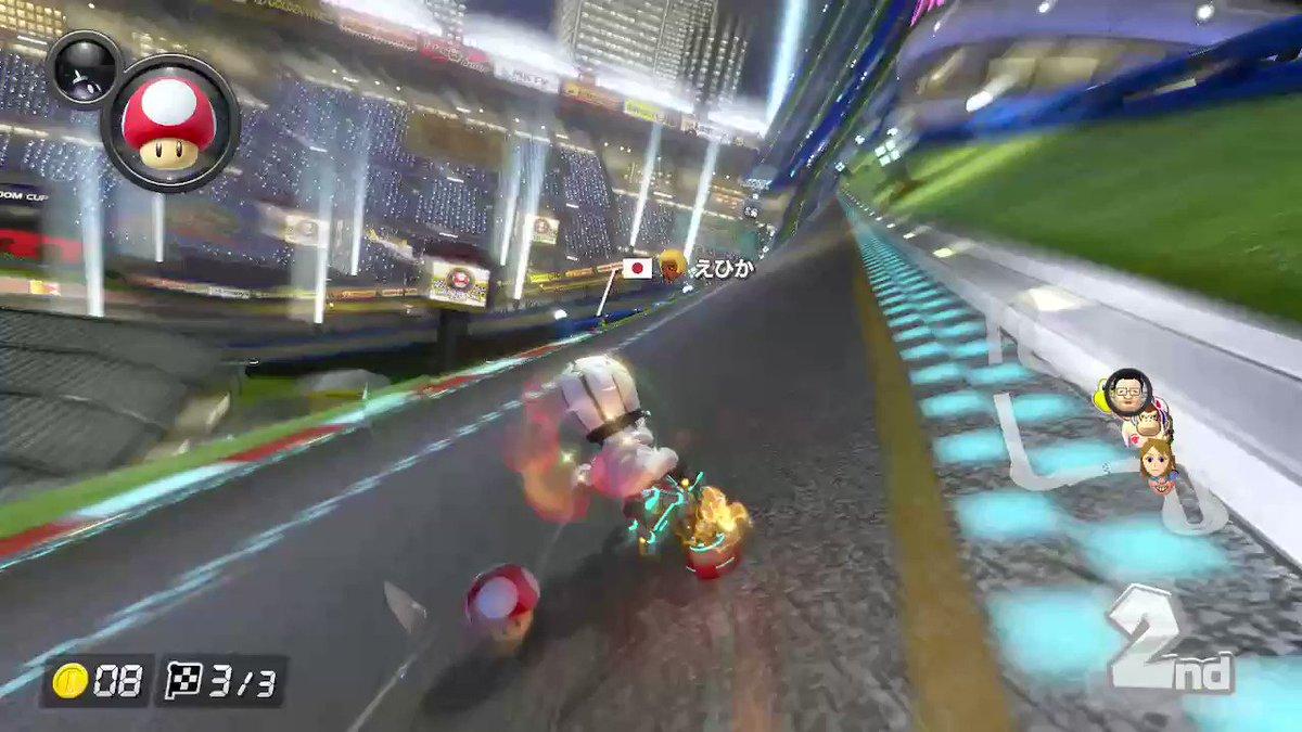 肩が弱すぎる #MK8D #NintendoSwitch