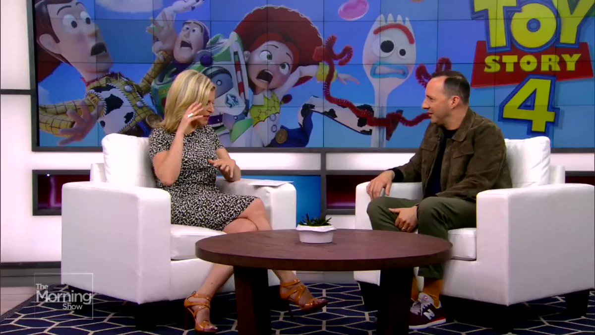 Have you seen #ToyStory4? @mrtonyhale stopped by to talk about voicing his character #forky https://globalnews.ca/video/5385896/tony-hale-on-voicing-a-new-character-in-toy-story-4/…