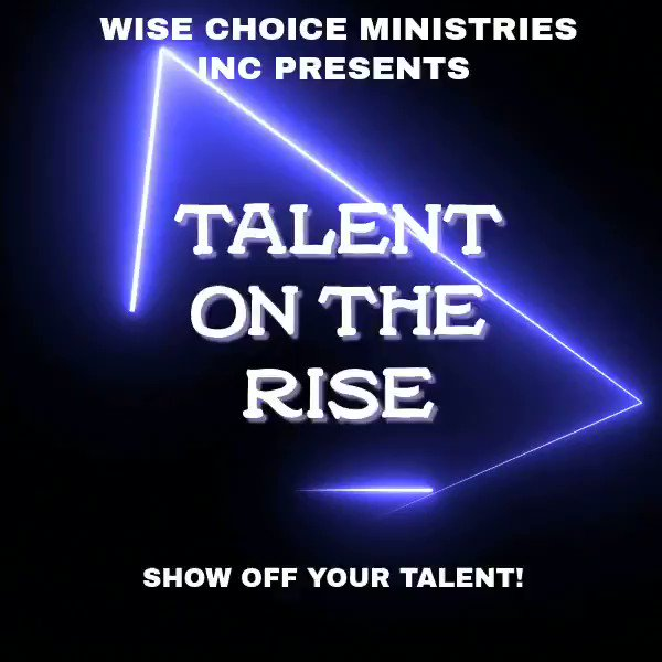 #talentontherise #gifts #community #talent #singing #dancing #poetry #rap #displayyourgift #palatkafl #wisechoiceministries #wcm #Facebook #instagram #youtube
