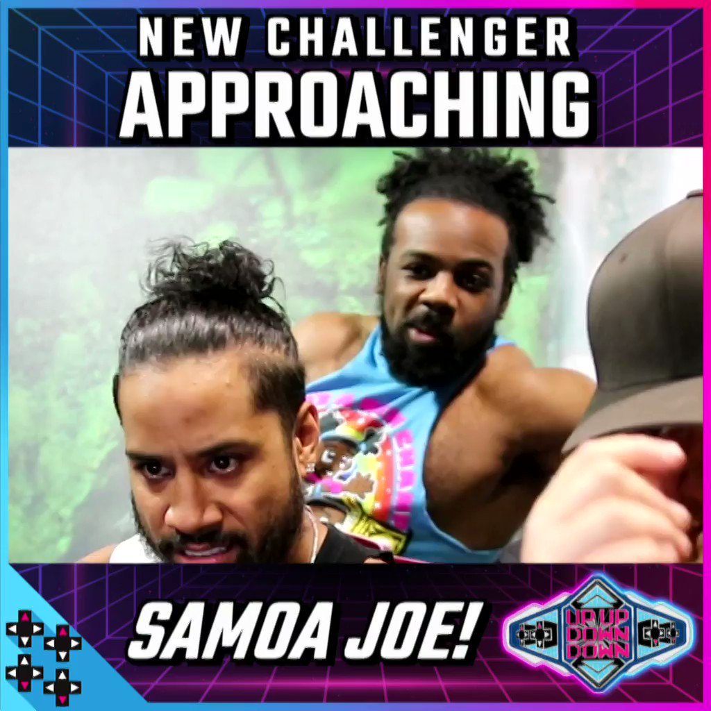 A NEW CHALLENGER APPROACHES!!! Can @SamoaJoe end Jimmy @WWEUsos' reign?!?! #UUDDTitle #UUDD2MIL @XavierWoodsPhD
