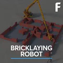 This #robot lays 1,000 bricks an hour, 2x a human bricklayer's daily work #robotics #3dprinting #additivemanufacturing #construction #ai #iot #digital #technology