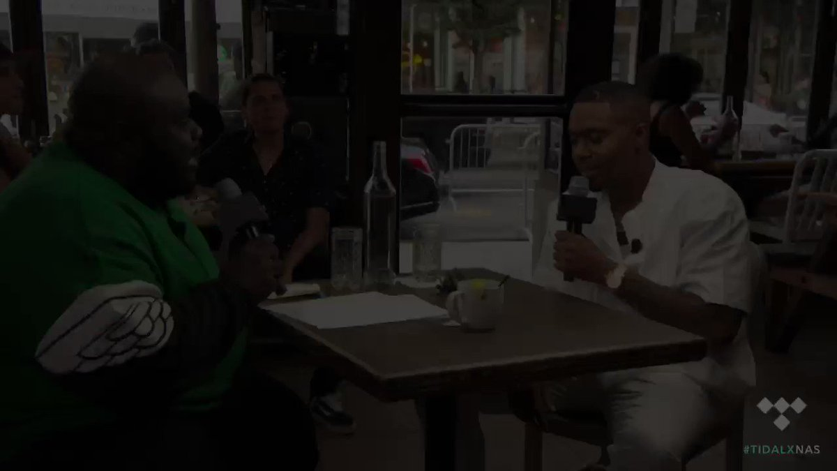 Missed my interview with @shaheemreid? Check it out exclusively on @TIDAL now. http://TIDAL.com/Nas #TheLostTapes2