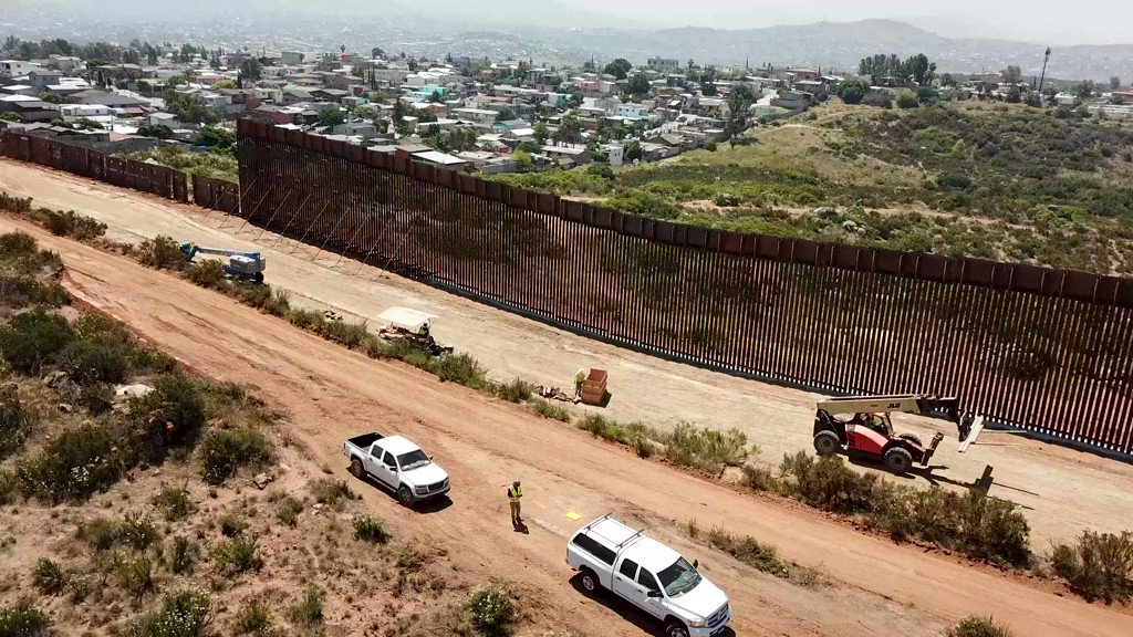 As I said on @LouDobbs, we've built 52 miles of border wall in place of old, dilapidated landing mat & Normandy-style vehicle barriers. We are on track to build another ~154 miles within the next 18 months. This investment will greatly enhance our ability to secure the SW border.