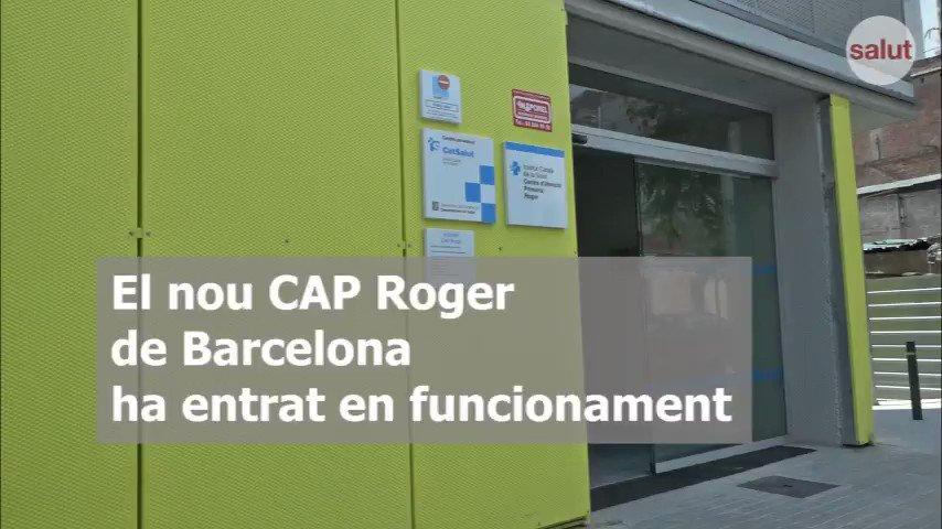 #Sabiesque ja funciona el nou #CAPRoger 🏥 del barri de #Sants - #Badal @apicsbcn ? Vine a fer-hi una passejada de la mà de professionals 👩⚕👨⚕ que hi treballen 🙌🏻 🔝 Som-hi! 🎥  #atencióprimària @icscat #ConstruïmlaSalutdelFutur  http://salutweb.gencat.cat/ca/inici/nota-premsa/?id=372342…