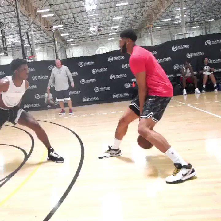 AD, Jrue Training Together 👀