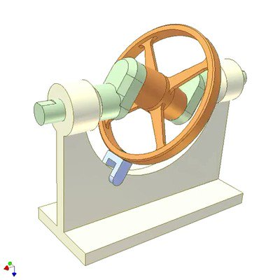Wobbling Disk Mechanism