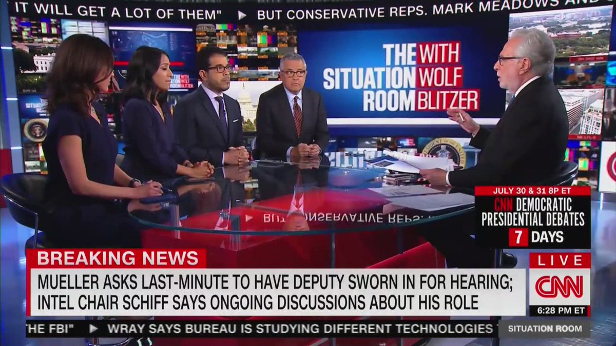 CNN: House Democrats have been holding mock hearings in preparation of Special Counsel Robert Mueller's testimony and they are preparing specifically for @Jim_Jordan