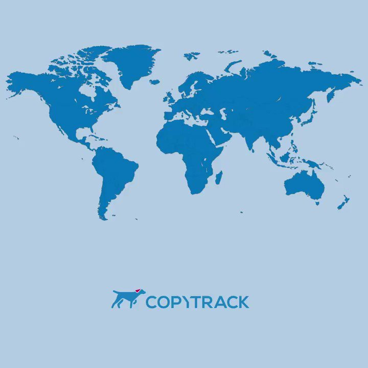 Image for the Tweet beginning: RT @COPYTRACK: We know that