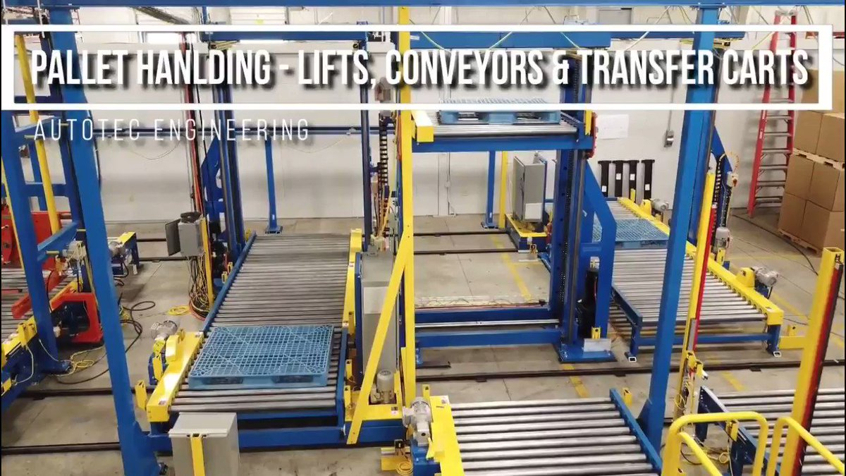 Image for the Tweet beginning: Watch our Pallet Handling -