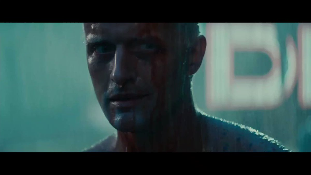 «All those moments will be lost in time, like tears in rain» RIP Rutger Hauer.
